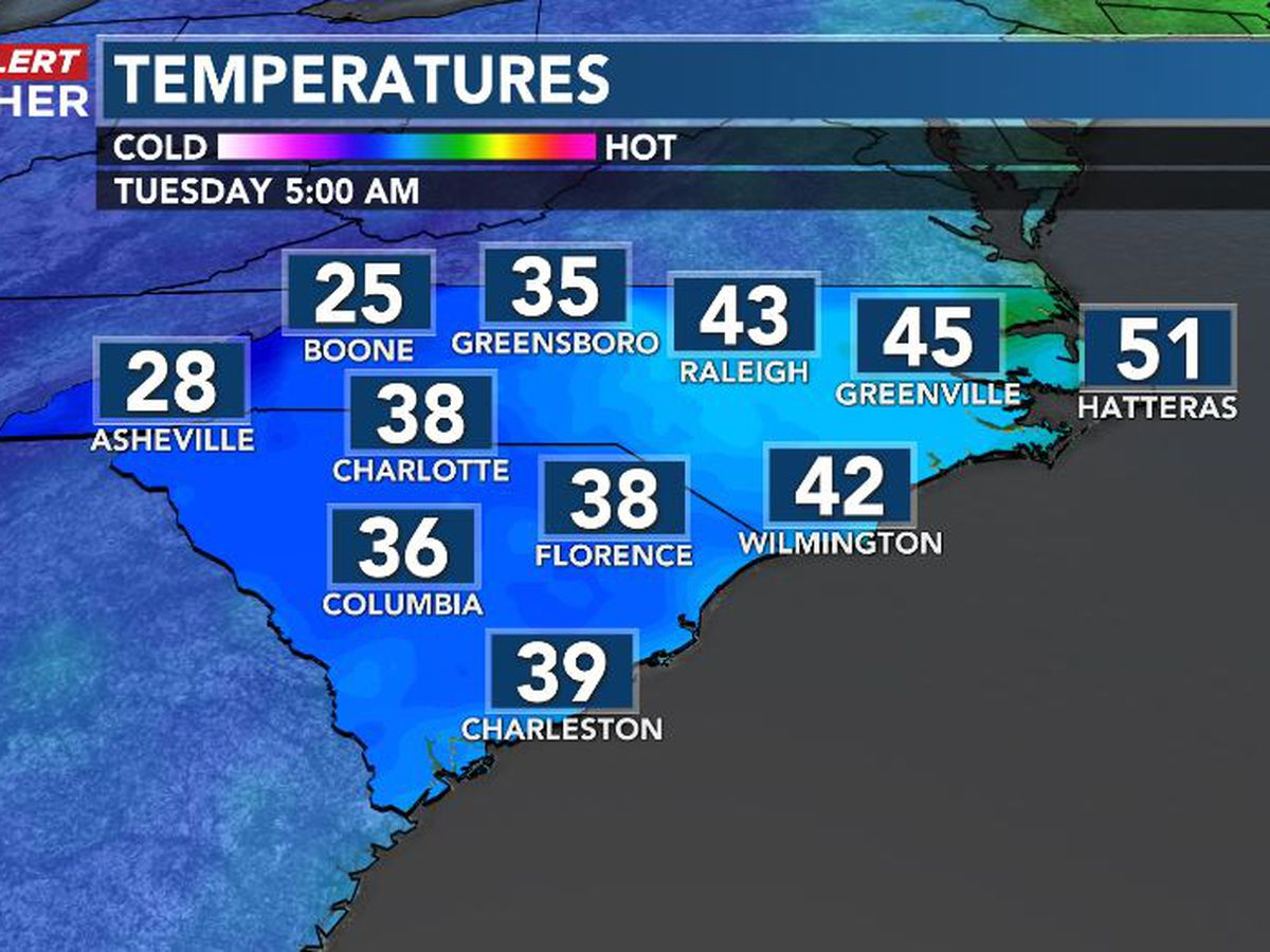 First Alert Forecast: a cold opening to December