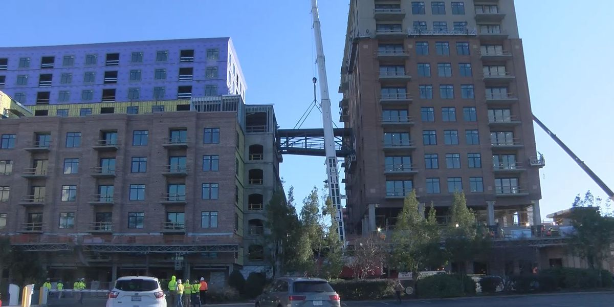 Work on River Place development nearing completion
