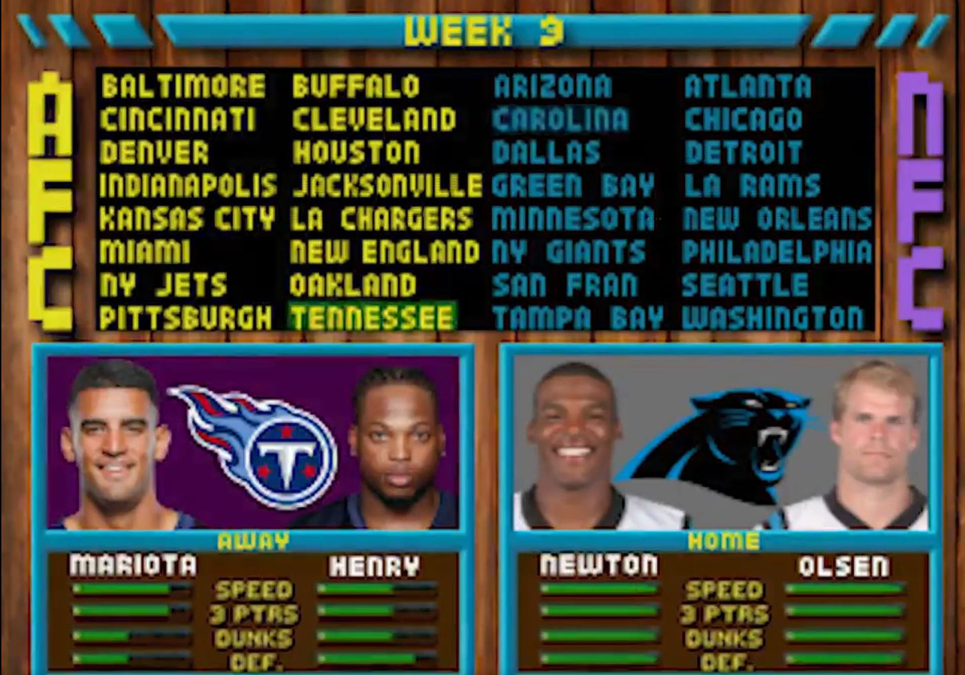 d94e532d Carolina Panthers' video game-themed schedule release gets rave reviews