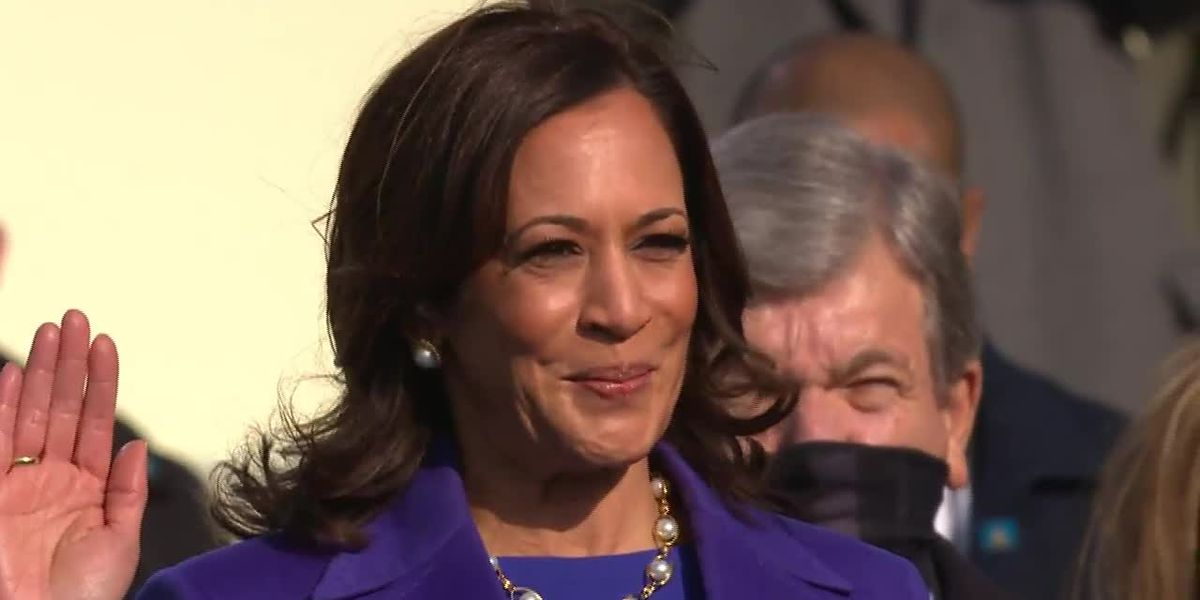 Vice President Kamala Harris's swearing in inspires local girls