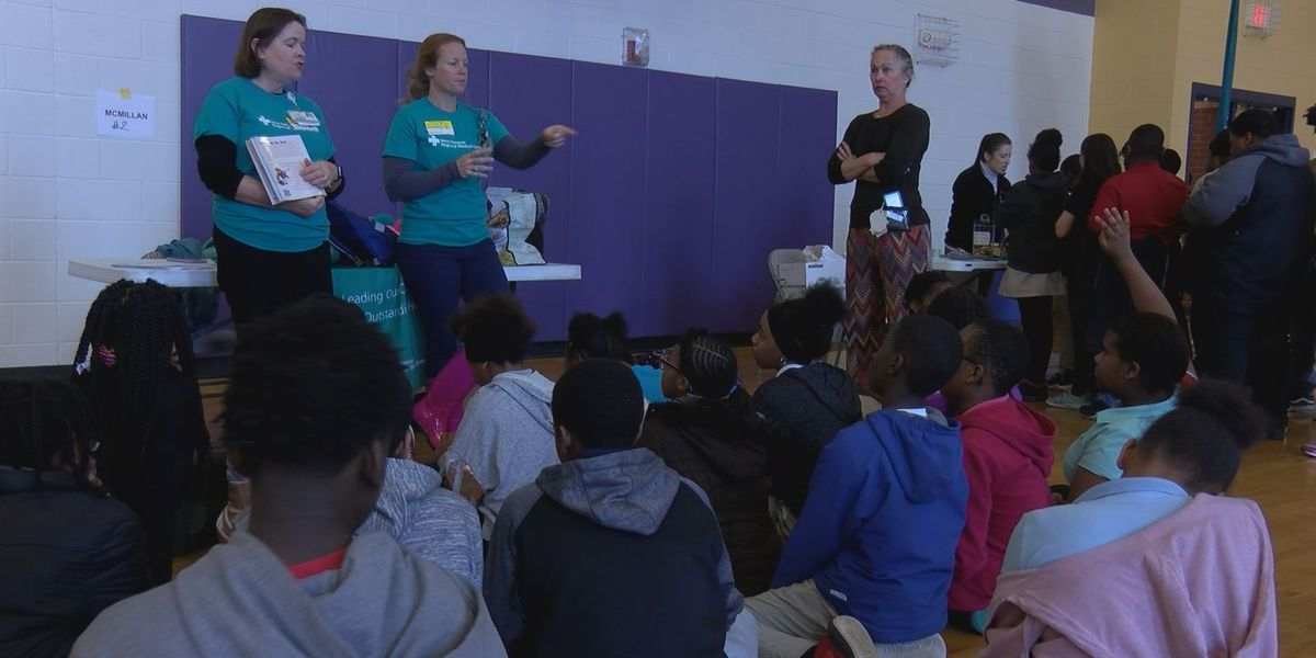 Health Expo and Science Fair teaches healthy lifestyle choices