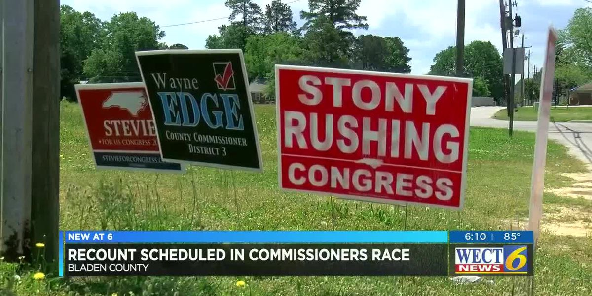 Recount scheduled in Bladen County Commission race