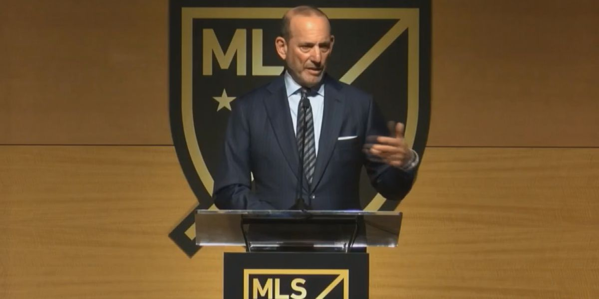 MLS commissioner joins Panthers owner, Charlotte mayor for major announcement