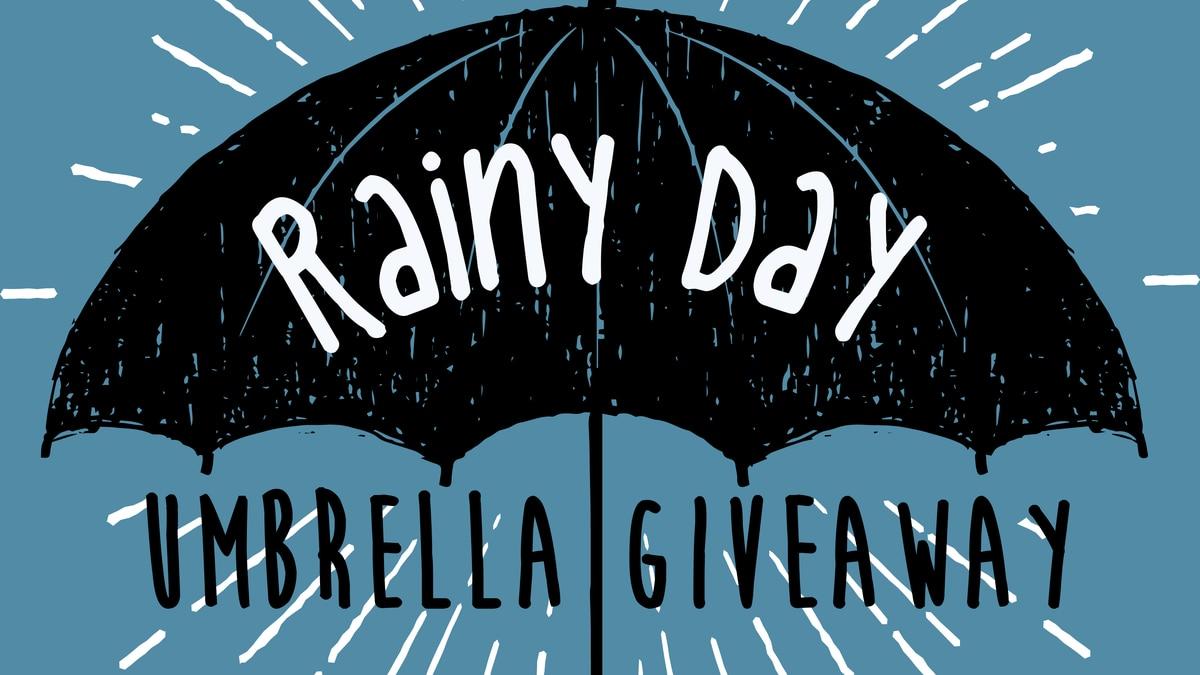 Rainy Day Umbrella Giveaway