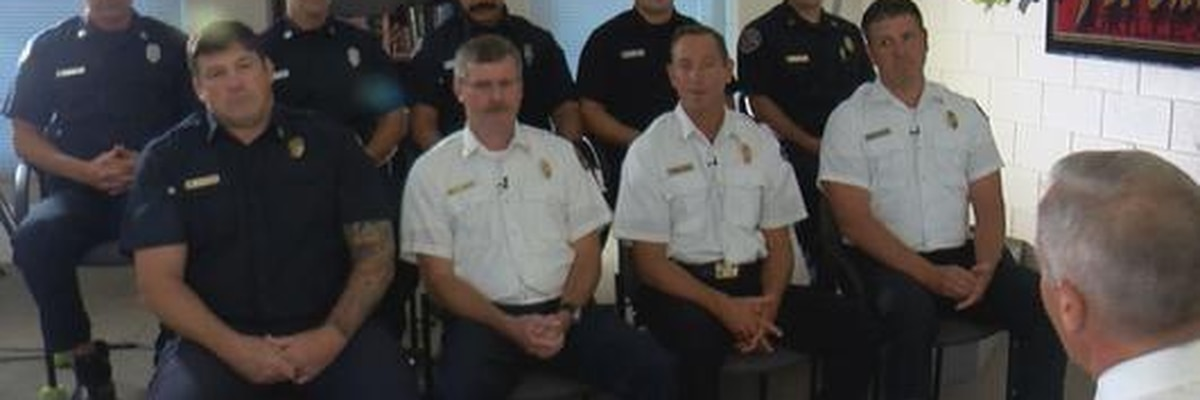 Wilmington firefighters remember the call to Mercer Avenue during Hurricane Florence