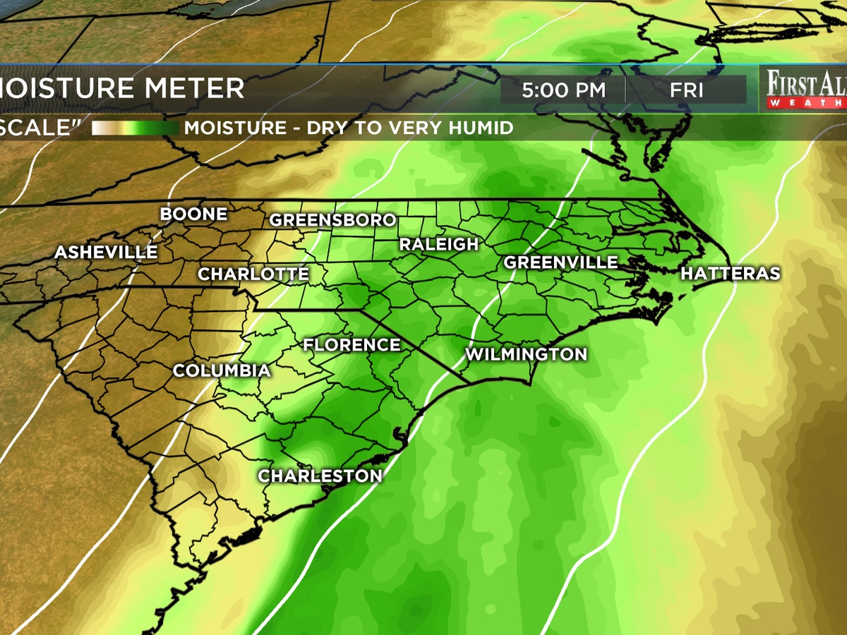 First Alert Forecast: warmer for Wednesday, strong storms possible Friday