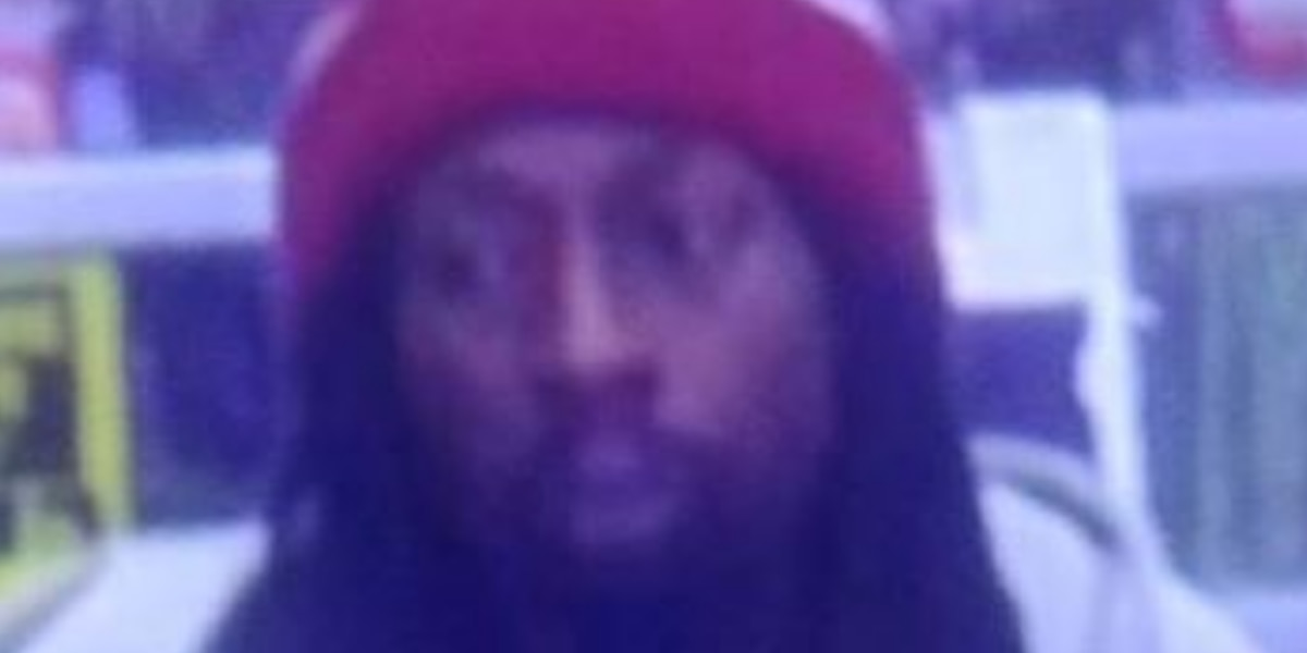 Man wanted after items taken from Walmart