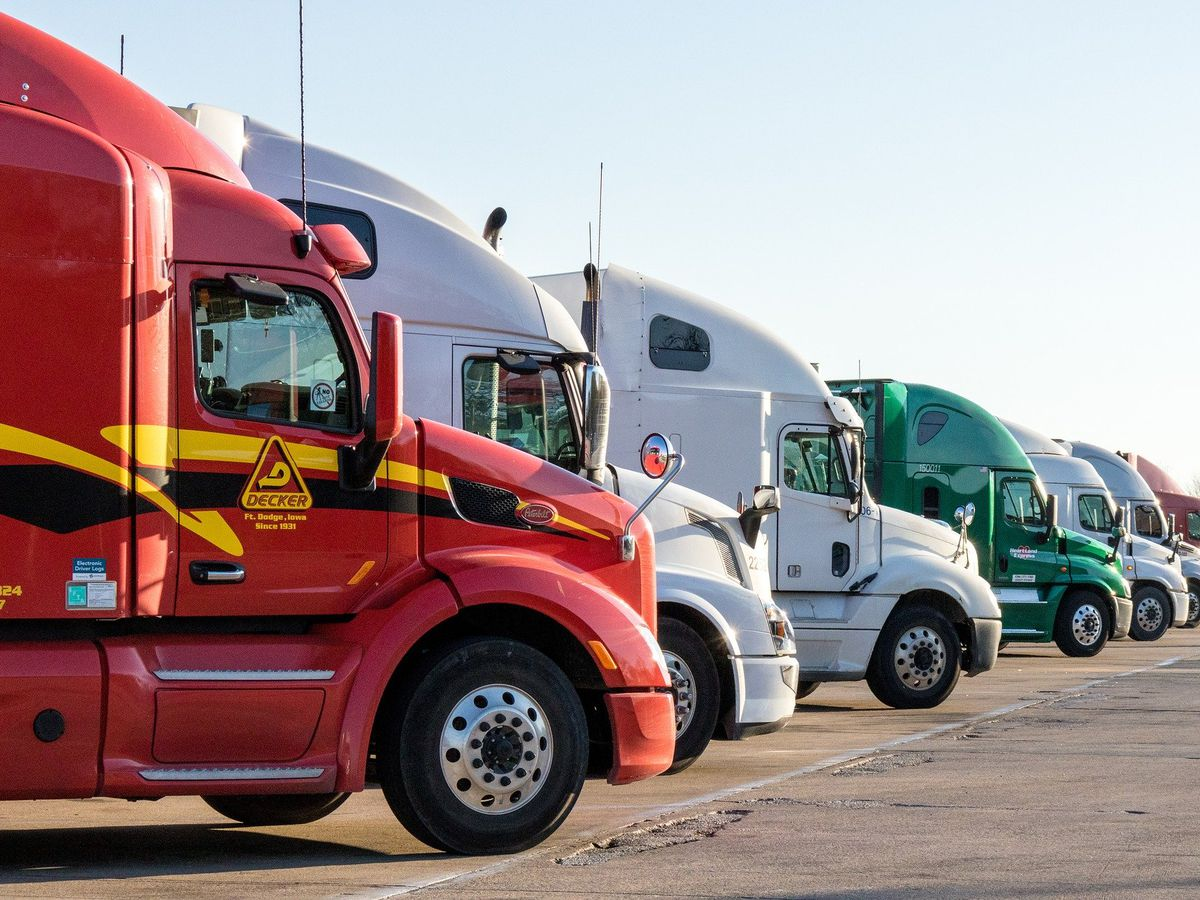 Truck drivers losing out on shipments due to slow production from overseas
