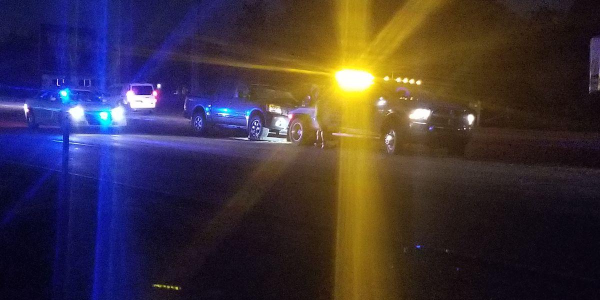 Pedestrian dies after being hit by pickup truck on Carolina Beach Road