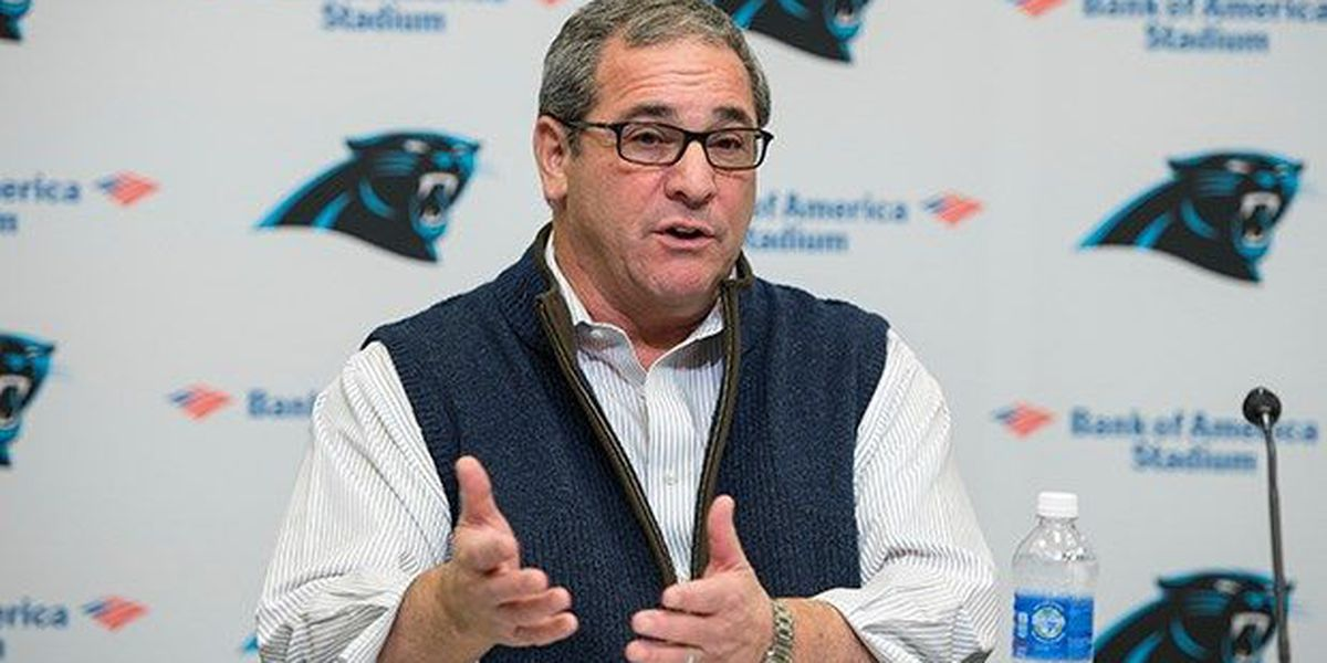 Former Panthers GM Dave Gettleman has lymphoma
