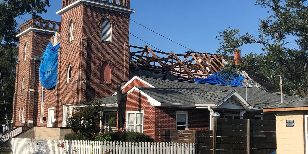 One Year Later: A Wilmington Church still shut down after damage from Hurricane Florence