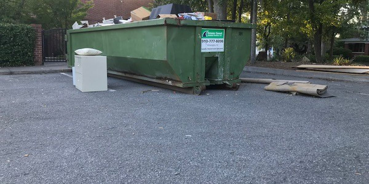 Files, medical waste discarded in dumpster at former Wilmington clinic