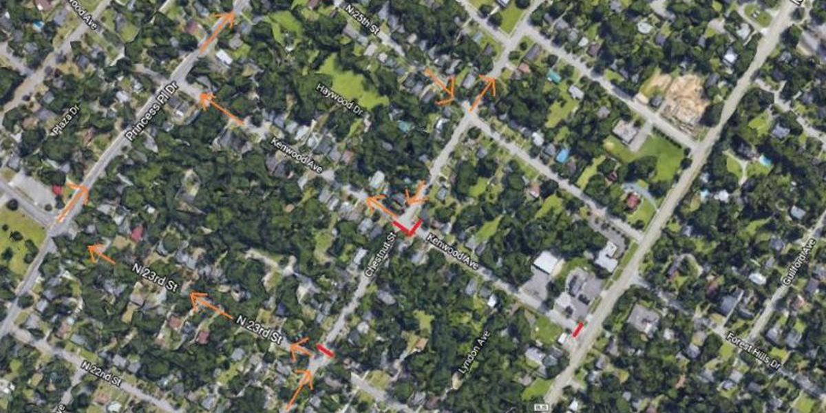 TRAFFIC ALERT: Part of Chestnut Street closed for emergency sewer repair