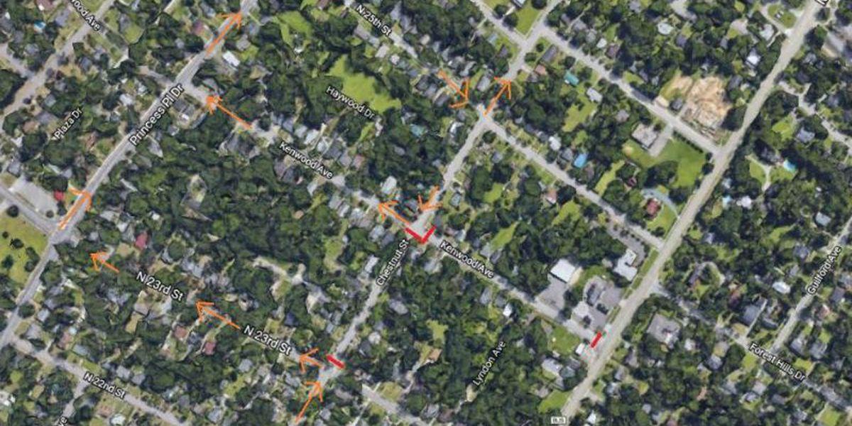 TRAFFIC ALERT: Part of Chestnut Street closed for emergency sewer repair