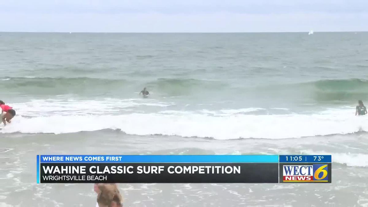 All female surfing competition hosted in Wrightsville Beach
