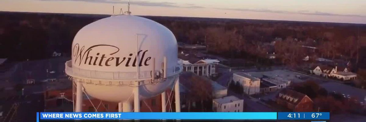 As neighbors continue to recover from two devastating hurricanes, Whiteville aims to get the attention of HGTV 'Hometown Takeover'