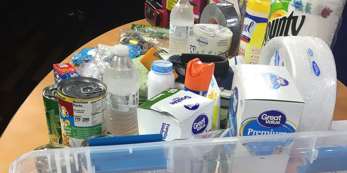 Pick up a free hurricane preparedness kit this Saturday