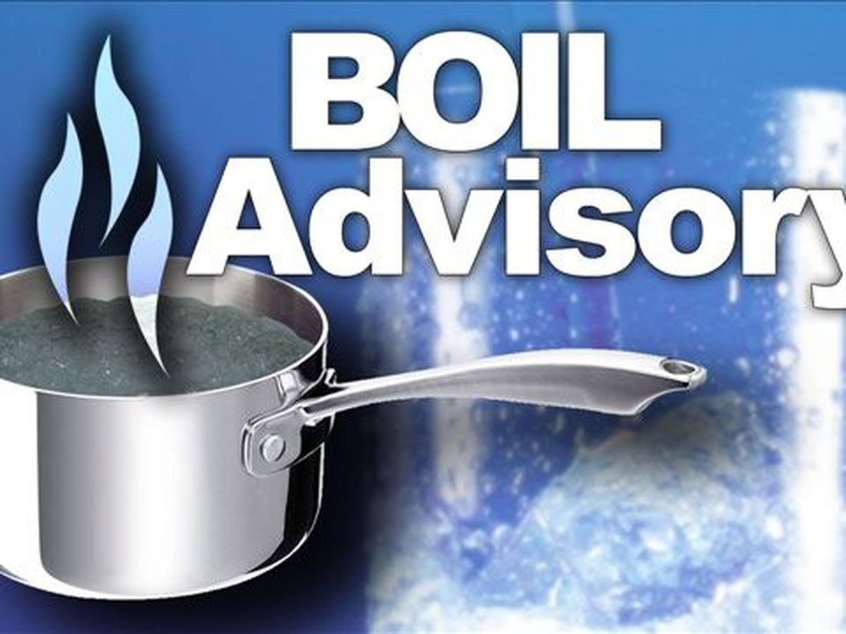 Boil water advisory in place for parts of Pender County