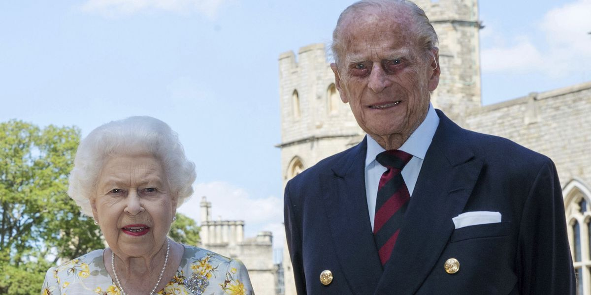 William says hospitalized grandfather Prince Philip is 'OK'