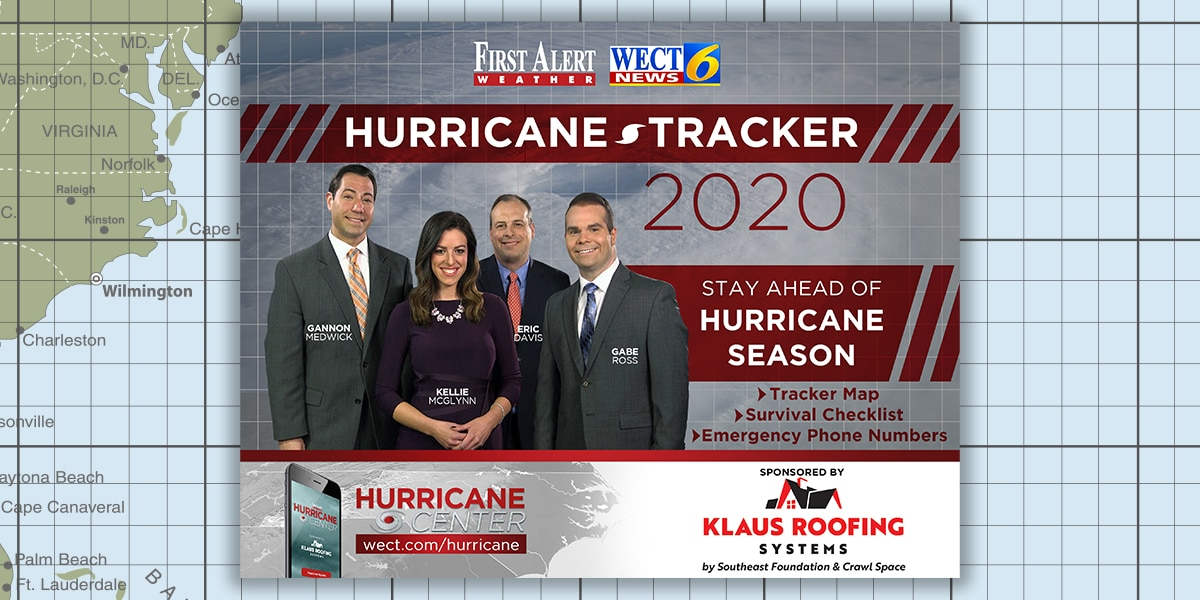 WECT Hurricane Tracker Video (2020 Season)