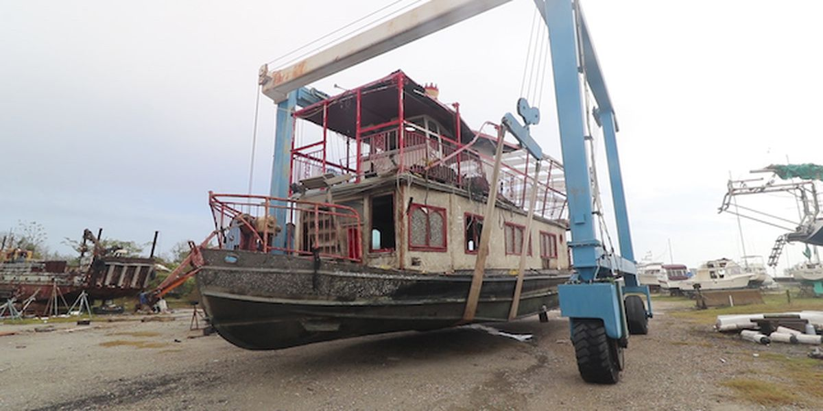 Iconic Surf City dinner cruise boat destroyed in Florence gets new life