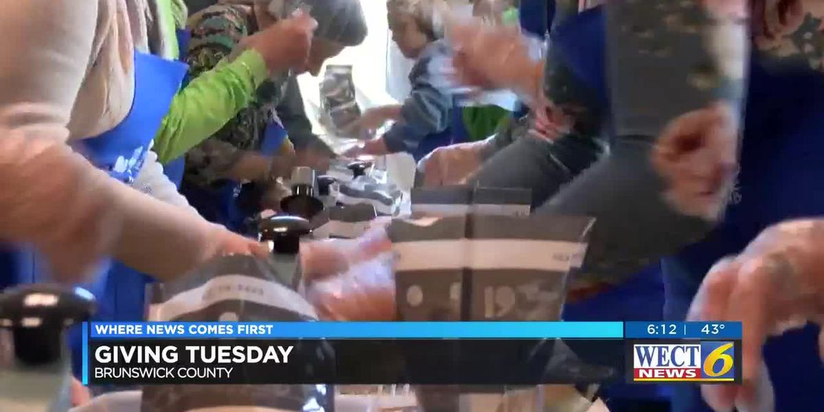 Giving Tuesday: Realtors group packs meals for those in need