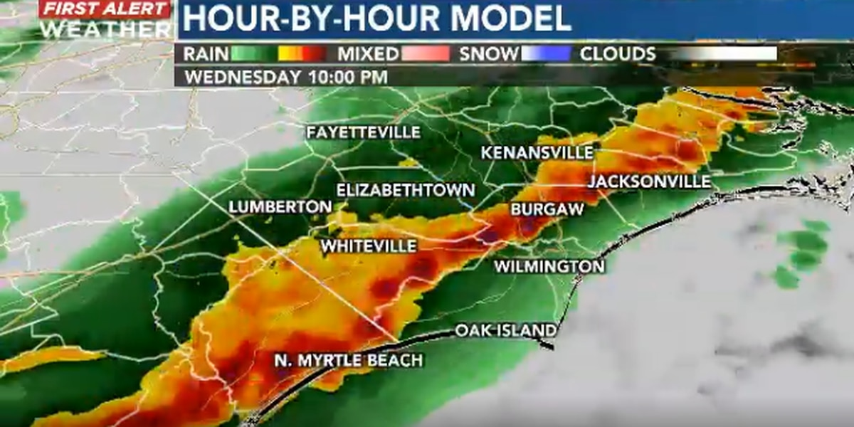 Meteorologist anticipates powerful thunderstorms Wednesday evening