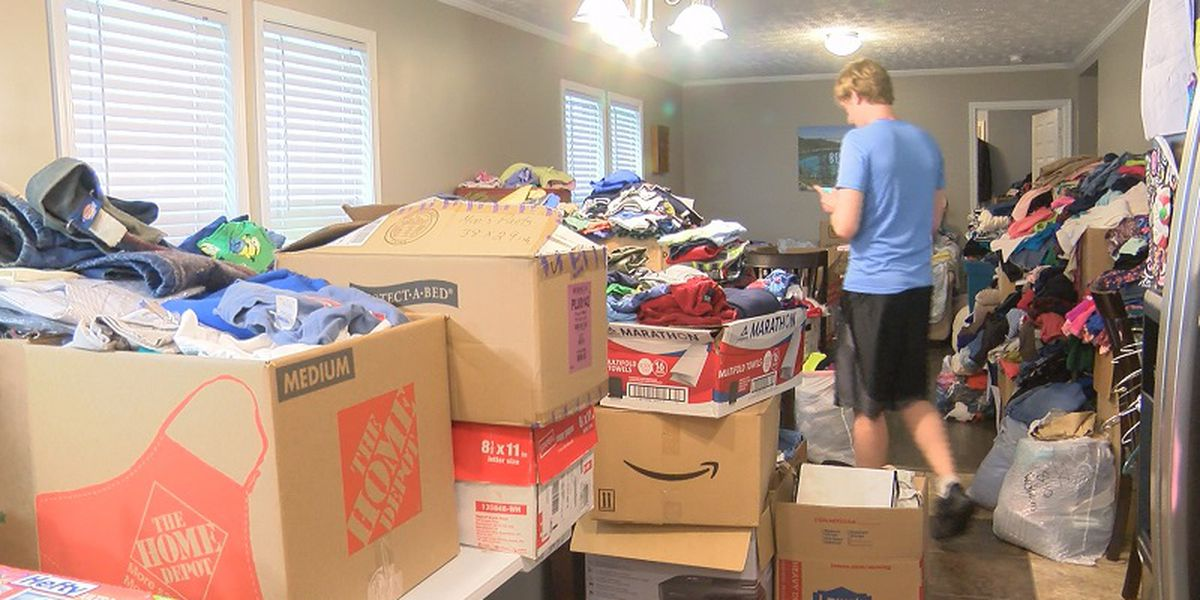 Pender County home turned into distribution site for hurricane survivors