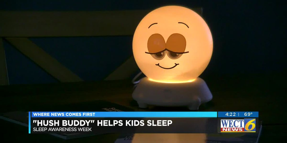 NC inventor: Hush Buddy device helps toddlers get the sleep they need