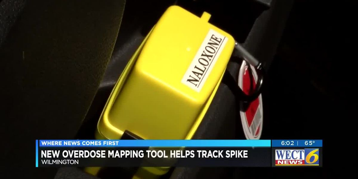 WPD using real time overdose mapping program to reach areas of concern