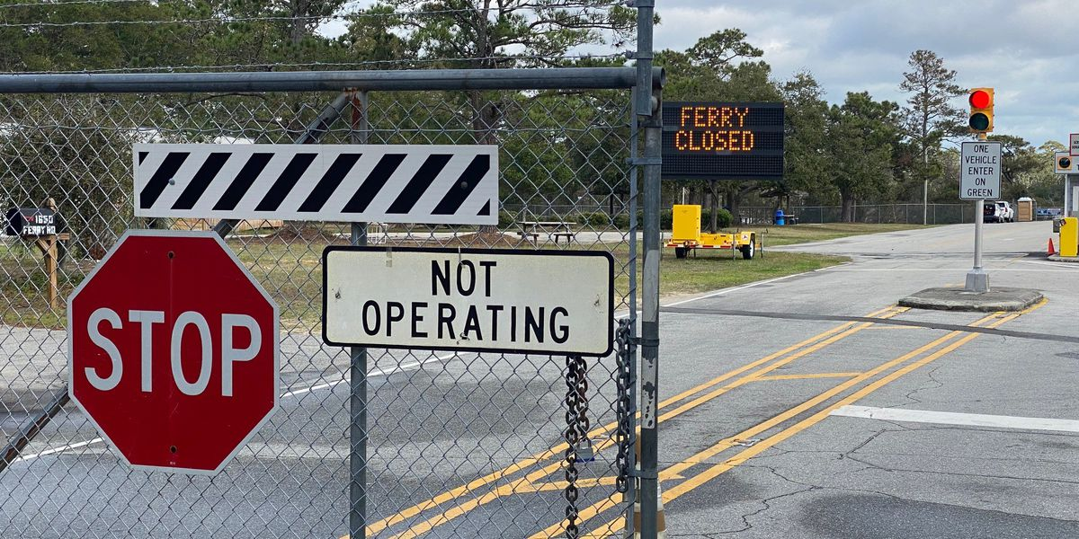 Fort Fisher/Southport ferry line undergoes major overhaul