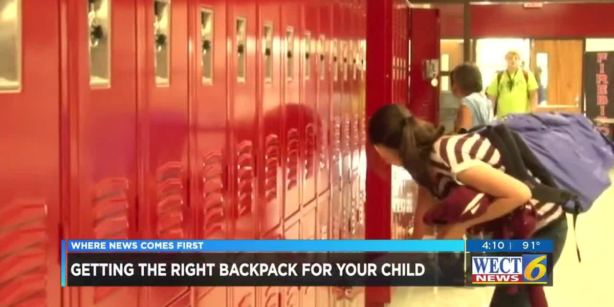 Back to School: Is your child's backpack to heavy?