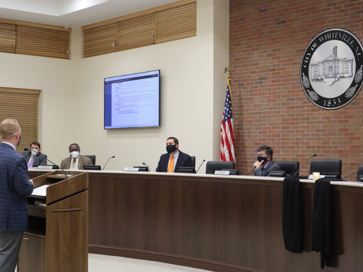 A death leaves a vacancy on the Whiteville City Council