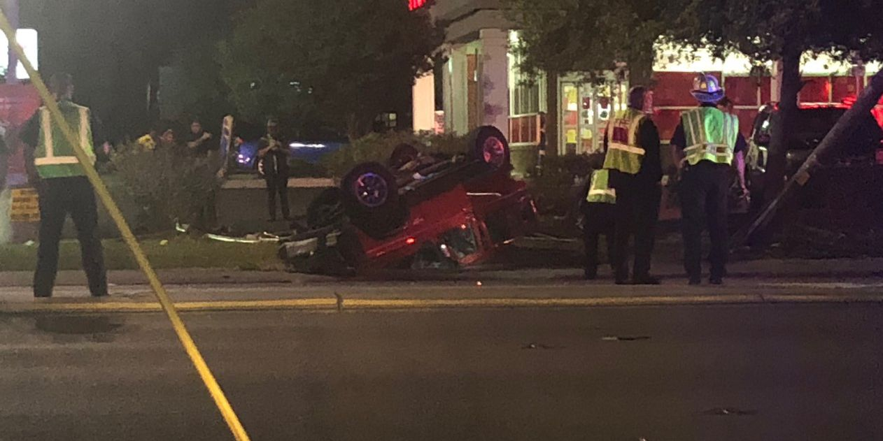 Woman faces DWI charge in wreck at College-Oleander intersection