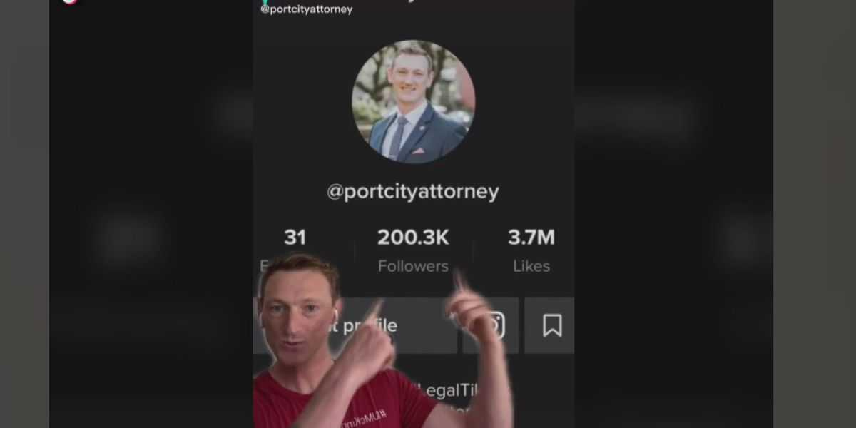 Attorney raises the bar with millions of views on TikTok