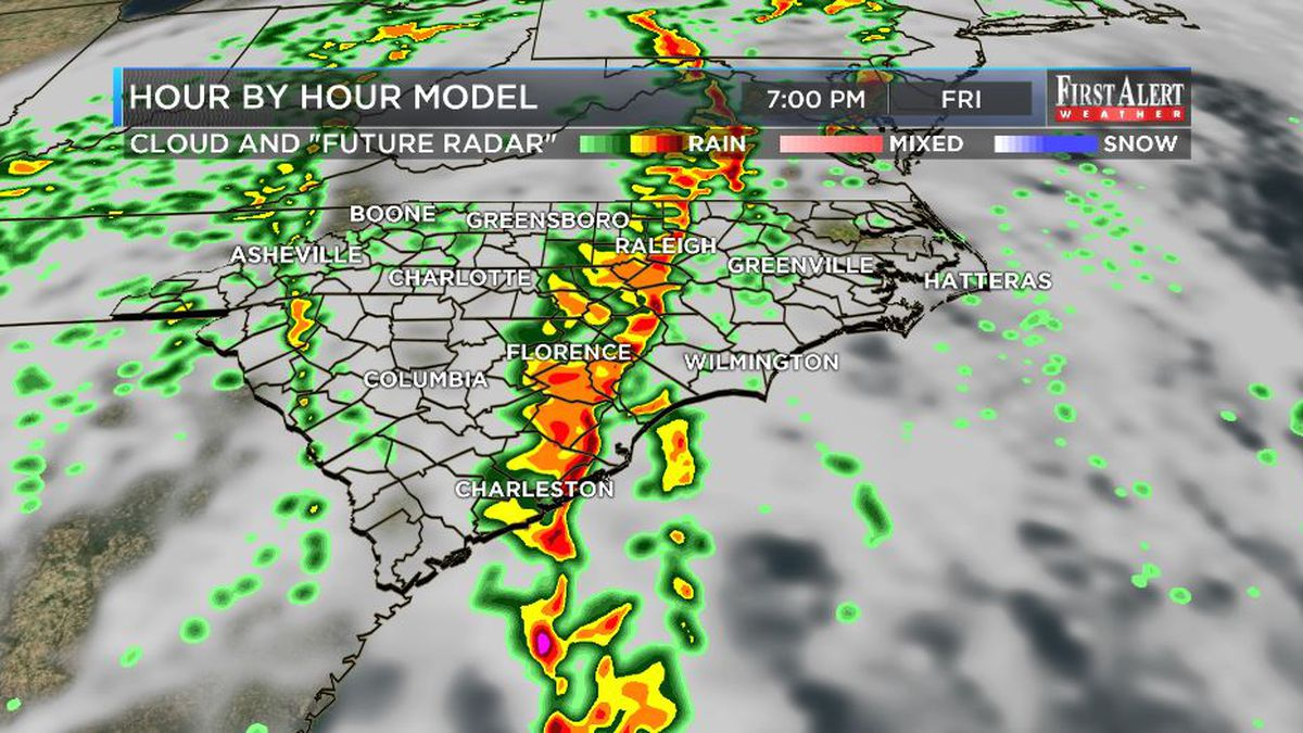 First Alert Forecast: SEVERE STORMS POSSIBLE FRIDAY, settled by Easter