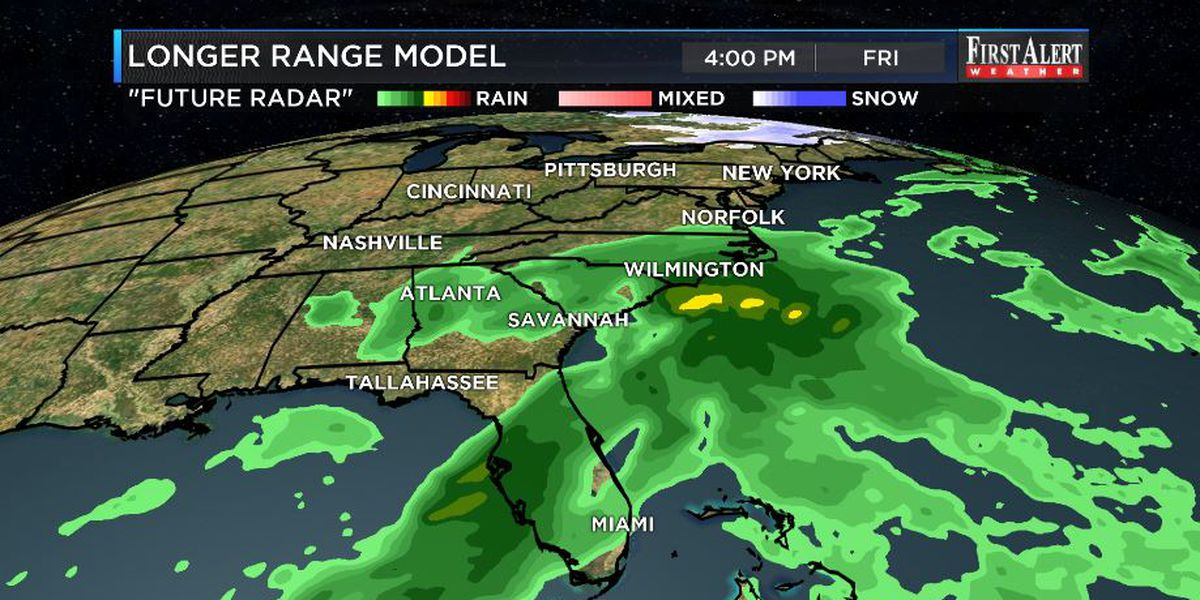 First Alert Forecast: wintry but dry Wednesday, rain to return shortly