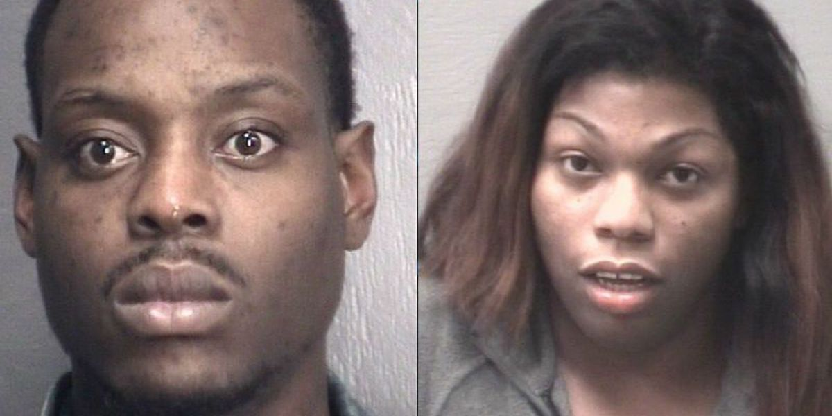 2 charged with human trafficking after prostitution sting