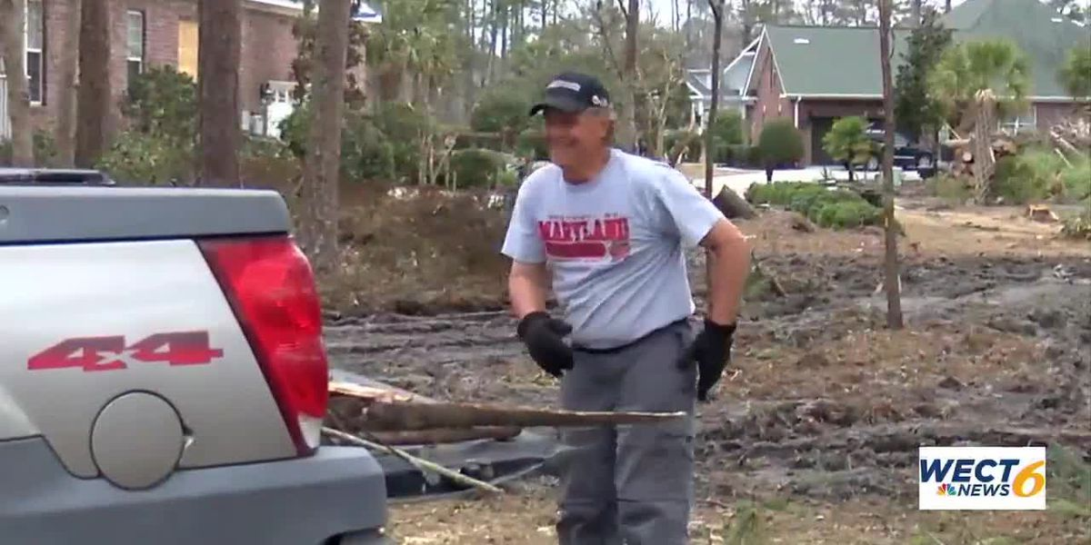 Recovering addicts volunteer to help tornado victims