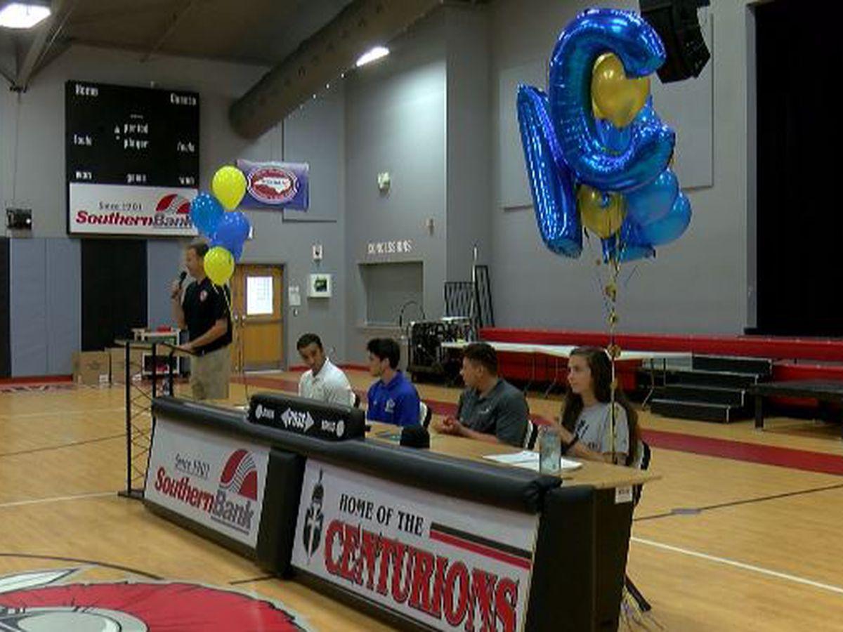 Coastal Christian hosts signing day for four athletes