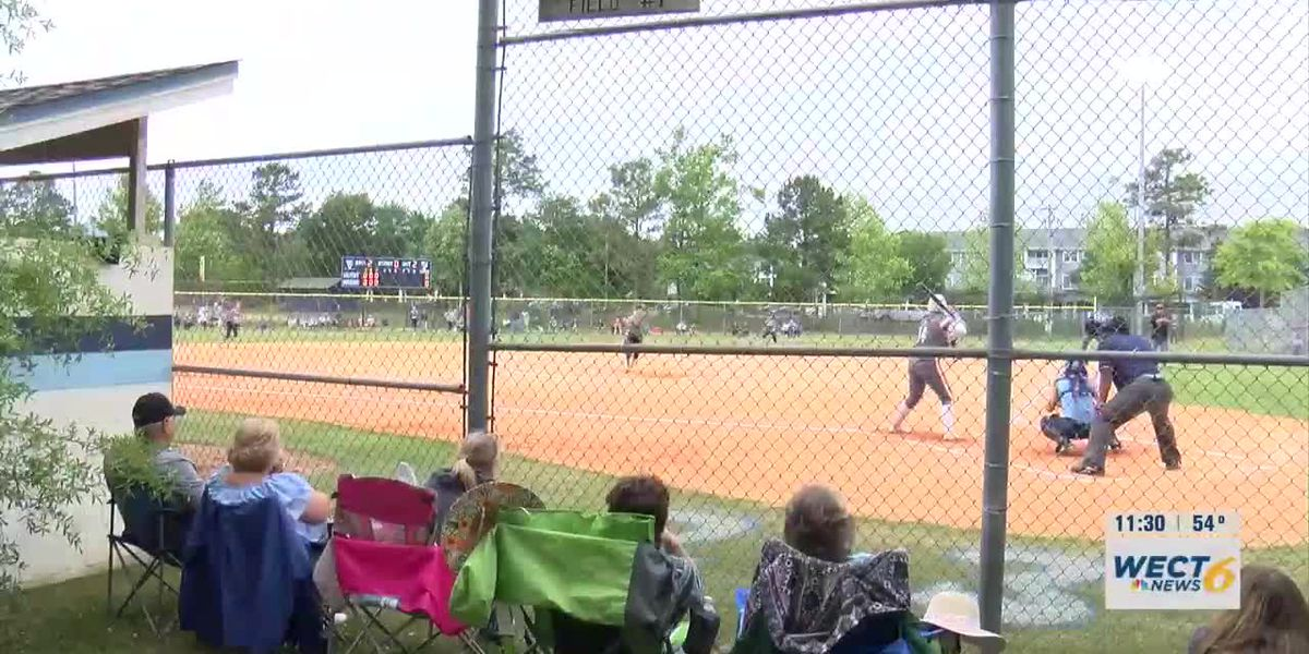 Hoggard softball team makes a good start in the state championship