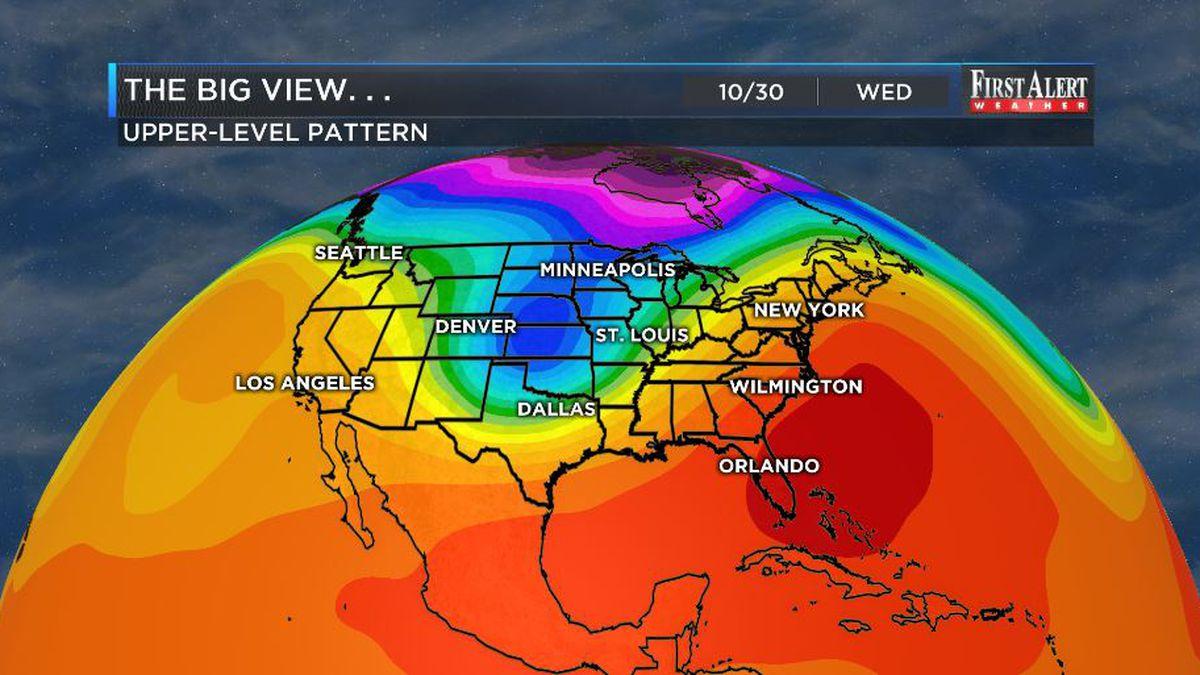 First Alert Forecast: dryness holds Thursday, rain chances gel soon after