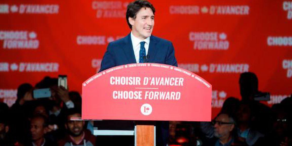 Canada's Trudeau wins second term, loses the majority