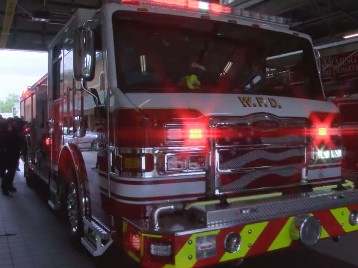 Wilmington Fire Department tests out new helmets