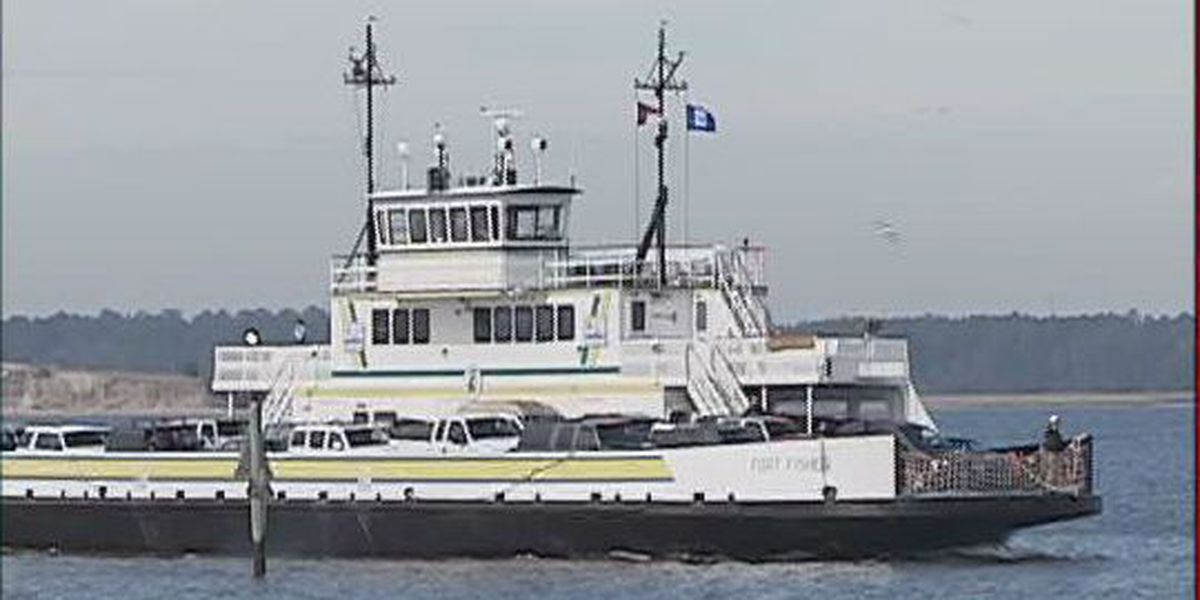 Holiday schedule announced for Southport-Fort Fisher ferry