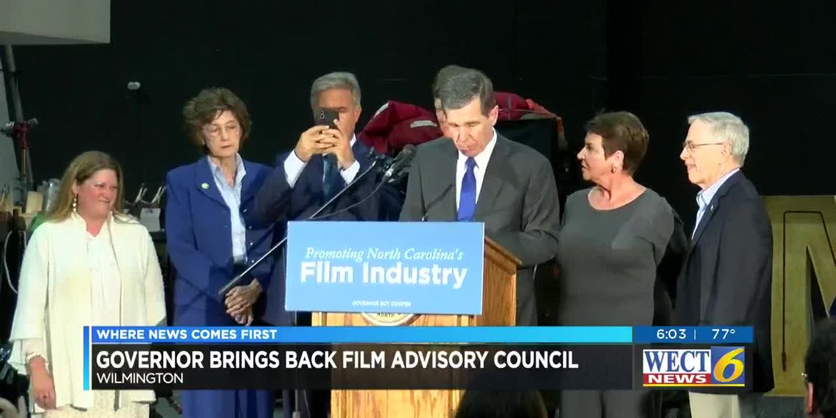 Cooper signs executive order forming 'Governor's Advisory Council on Film, Television and Digital Streaming'